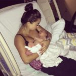 Catherine Lowe's beautiful baby boy